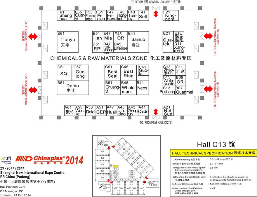 CHINAPLAS 2014 国际塑料展